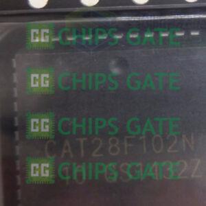 Encapsulacion-2PCS-CAT28F102N-10-de-plastico-con-plomo-portador-de-Chip-x16-Flash-EEPROM