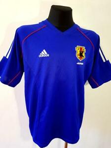 24169d5e3 Image is loading JAPAN-NATIONAL-TEAM-2002-2004-FOOTBALL-SHIRT-ADIDAS-
