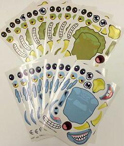 12 MYO Jurassic Dinosaur Dino Stickers Teacher Supply Party Supply