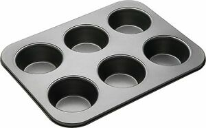 Masterclass-6-Extra-Large-Hole-Non-Stick-American-Muffin-Cake-Baking-Tray-Sheet