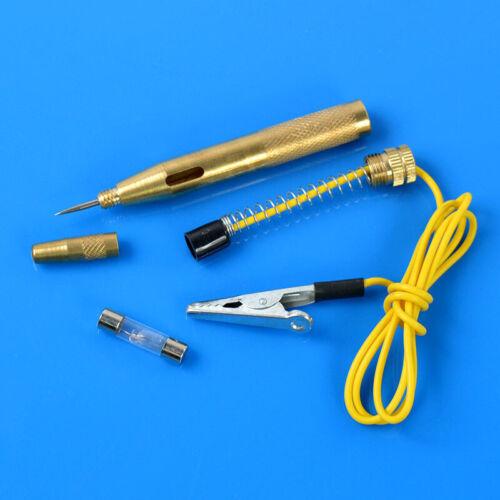 DC 6V-24V Car Auto Truck Motorcycle Circuit Gauge Voltage Tester Test Pen Tool
