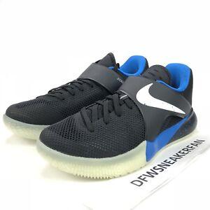 2dd4f887401 Nike Zoom Live PE ZACH LAVINE Men s Size 10 Black Blue Orlando Shoes ...