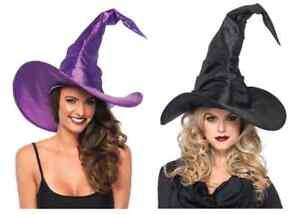 Hexenhut Latex Karneval Halloween Hexe Zauberin
