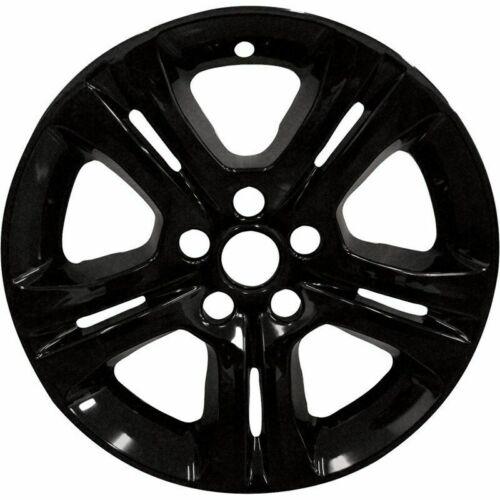 "SXT # 7100G-B 17/"" Gloss Black Wheel Skins NEW SET//4 2015-2018 Dodge Charger SE"