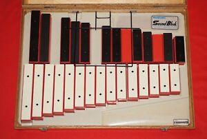DéSintéRessé Suzuki Sb-26 Sound Block Xylophone Dans Coffret En Bois Très Bon état-afficher Le Titre D'origine Pour Convenir à La Commodité Des Gens