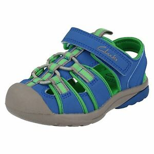 Image is loading Clarks-Boys-Sandals-039-Beach-Mate-039 e6bfe3bf9860