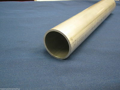 """HPS 2.75/"""" OD x 3/"""" Long 6061 Aluminum Joiner Tube Piping with Bead Roll"""