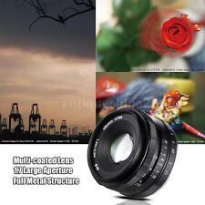 MEIKE 35mm f/1.7 Large Aperture Manual Focus APS-C Camera Lens for SONY E Mount