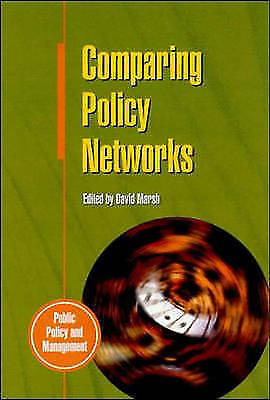 Comparing Policy Networks (Public Policy & Management), Unknown, Used; Good Book