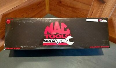 Toys & Hobbies Diecast & Toy Vehicles Mac Tools/action Bob Vandergriff Jr 1996 Limited Edition 1:24 Scale Dragster A Plastic Case Is Compartmentalized For Safe Storage