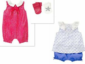 GYMBOREE BY THE SEASHORE GIRLS OUTFITS SIZE NWT SIZE - 18-24 MONTHS