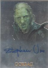 Lord Of The Rings LOTR Trilogy Autograph Card Stephen Ure as Gorbag