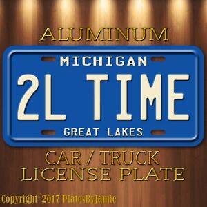 Home-Improvement-Tim-Allen-s-Roadster-TOOL-TIME-Aluminum-Prop-License-Plate