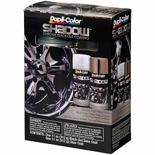 Duplicolor Shd1000 Shadow Black Chrome Coating Aerosol Spray Paint Custom Kit