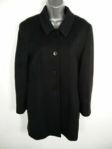 WOMENS-MONSOON-BLACK-BUTTON-UP-SINGLE-BREASTED-SMART-CAR-OVERCOAT-JACKET-UK-14