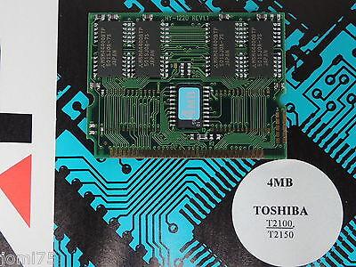 Toshiba Satellite T 2100 T2150 Memory Upgrade Ram 4mb Rare Card New 2023c Eppure Non Volgare