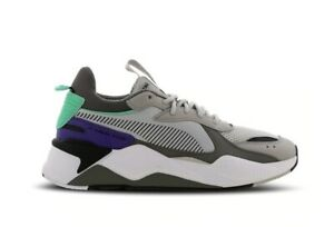 Puma-RS-X-Tracks-034-Gray-Violet-Carbone-G-034-Uomo-Scarpe-da-ginnastica-Tutte-le-TAGLIE-STOCK