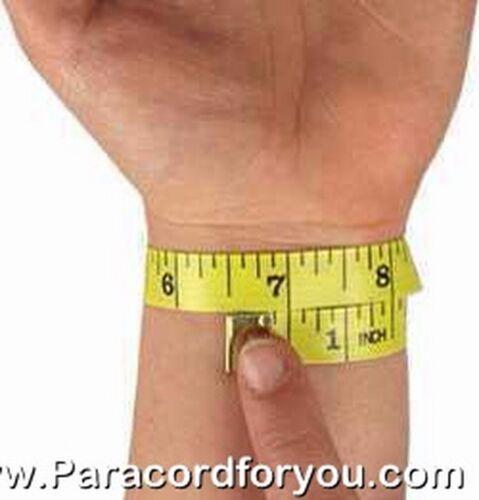 Paracord Bracelet-tire tread Bar-et verstelbarer inox schäckel