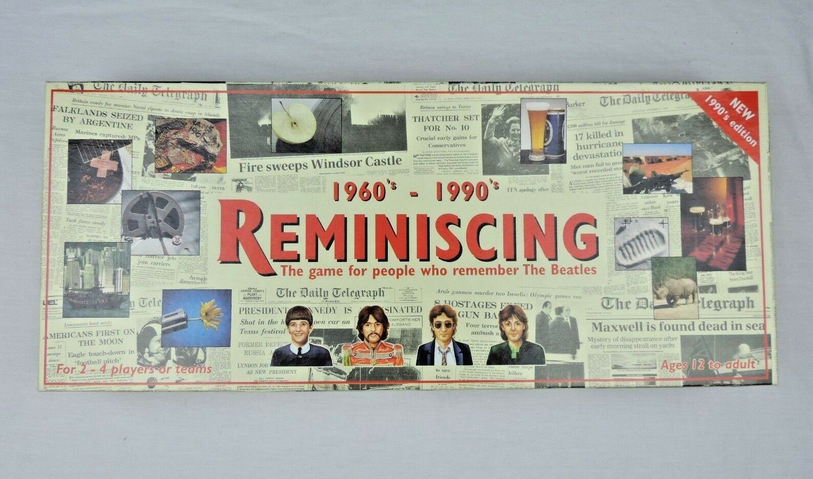 Reminiscing 1960s 1960s 1960s - 1990s Board Game 243d86