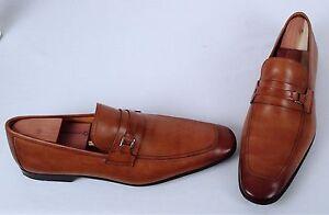 Magnanni Madrid Loafer- Walnut- Size 13.5 M/ Labeled 13 M  (M1)