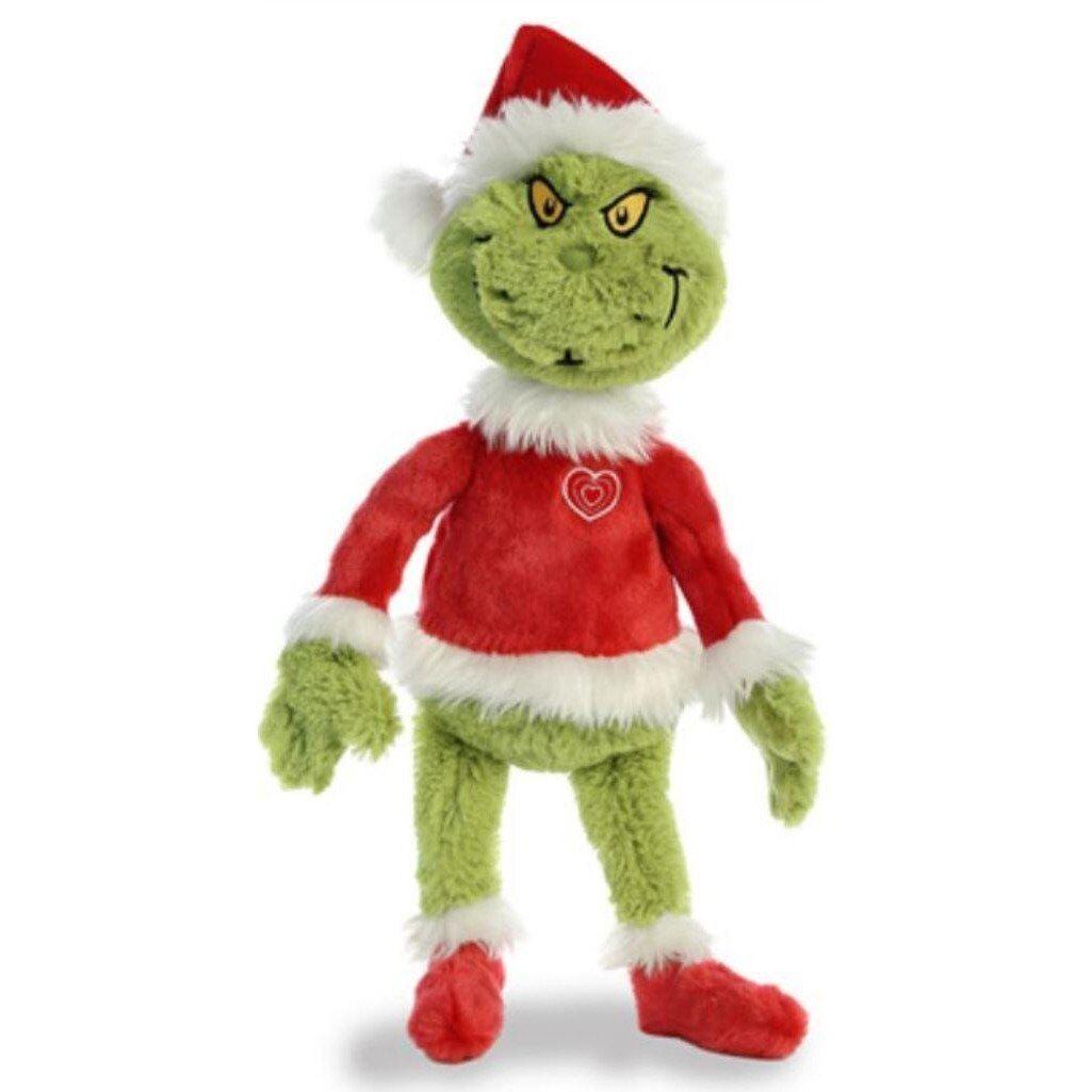 AURORA DR SEUSS SANTA GRINCH 19  SUPER SOFT TOY PLUSH BRAND NEW GIFT CHRISTMAS