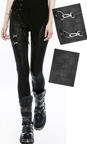 Cracked Leggings Moschettone Steampunk Sexy Punk Punkrave Leather Gothic IqP4rwqp