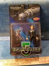 Babylon 5 Susan Ivanova Action Figure - NEW MOC - w/Starfury ship
