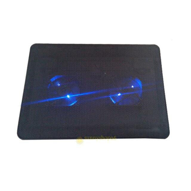 Adjustable USB Cooling Pad Stand Cooler with 2 Fan for 9-17