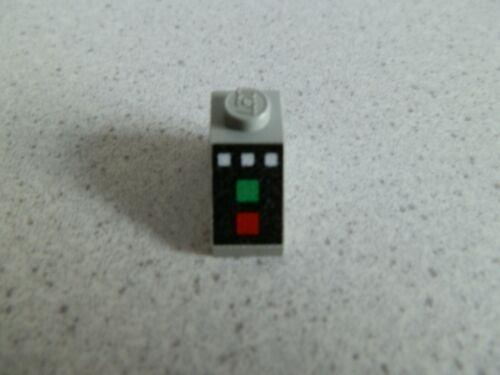 Lego 3040px1 # 1x Schrägstein 2x1 bedruckt grau alt hellgrau 10020 6456