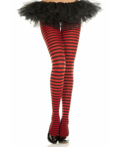 All Over Stripes Opaque Tights Music Legs 7471