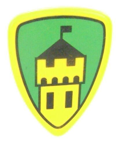 Playmobil 3666 Castle Parts Drawbridge HERALD TOWER Shield Kings Knights HTF I