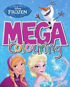 DISNEY-FROZEN-Anna-Elsa-amp-Olaf-Mega-Libro-Para-Colorear-96-Paginas