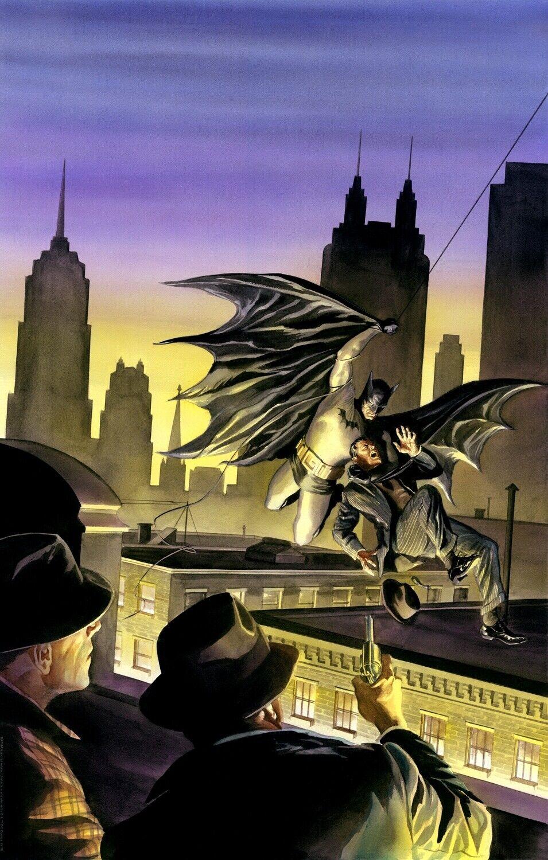 Alex Ross Detective Comics  27 1st Appearance Character Fine Kunst Batman Tribute