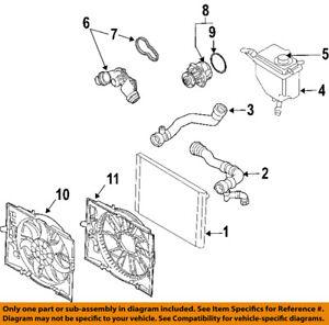 bmw oem 08 10 528i radiator cooling fan blade shroud 17417543283 ebay Audi TT Cooling System Diagram image is loading bmw oem 08 10 528i radiator cooling fan