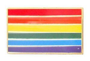 Rainbow LGBTQ+ Gay Lesbian Pride Pin Badge