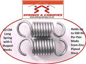 500 Kg Paire De Jardin Swing Hamac Spring Heavy Duty Lot De Deux 2 12 Cm Forme S-afficher Le Titre D'origine Qptwdsrc-10131253-777415404
