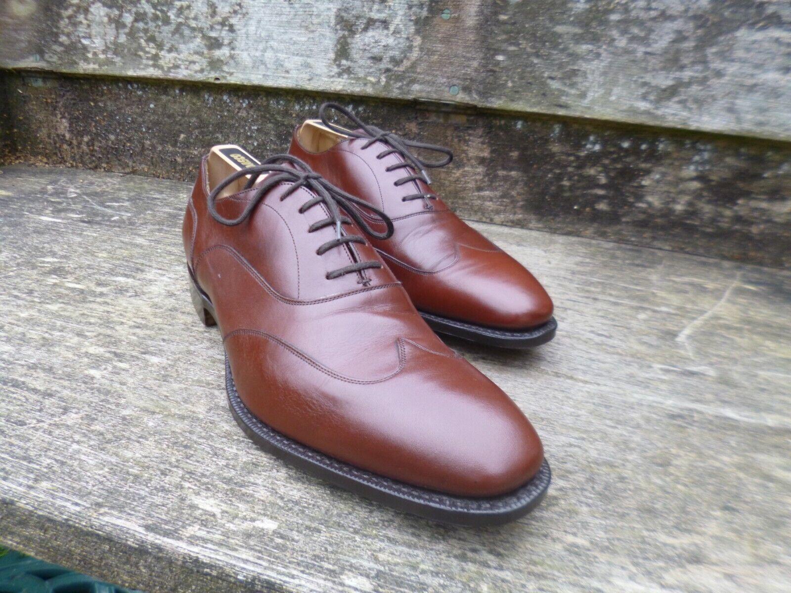 Iglesia Zapatos Oxford-Marrón – – Shergar – Excelente Estado