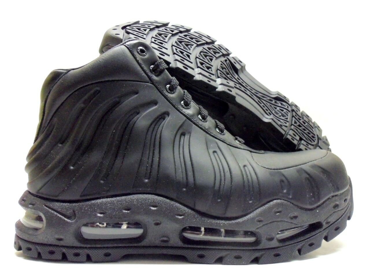 NIKE AIR MAX FOAMDOME BOOT BLACK/BLACK SIZE MEN'S 7.5 [843749-002]