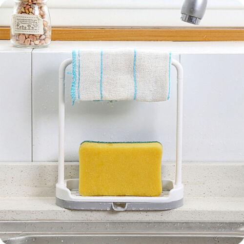 1x Abfluss Ständer Wandbehang Lagerregal Schwamm Wischlappen Badezimmer Creative