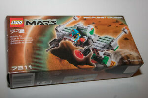 LEGO-7311-Life-on-Mars-Red-Planet-Cruiser-with-Box-amp-Instructions