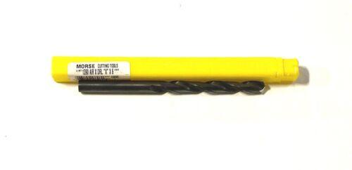"Morse Letter X Aircraft Extension Drill 6/"" HSS 135° Split Point USA Made 16696"