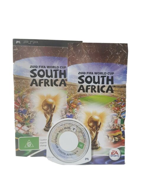 2010 FIFA World Cup SOUTH AFRICA - Sony PSP COMPLETE Game - FREE POSTAGE