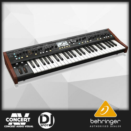 Behringer Deepmind 12 49-Key 12-Voice Analogue Synthesizer (OPEN BOX DEMO)