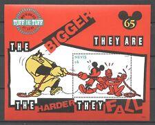Walt Disney, Micky - Nevis - 1 Bl. ** MNH