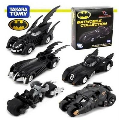 The Dark Knight Batman Set 5 Batmobile Toy Collection Model New in Box