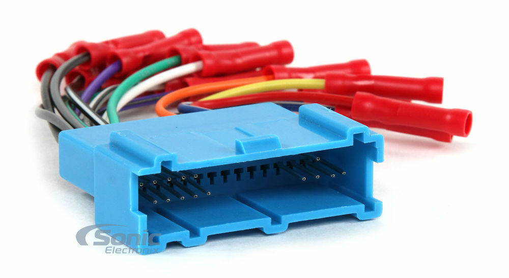 Scosche GM03BCB Wiring Harness W/ Butt Connectors for 1996-up GM ...
