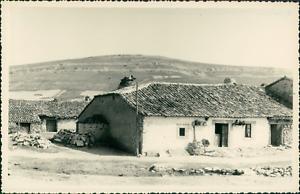 Espagne-Habitations-Anciennes-1955-Vintage-silver-print-Spain-Tirage-arg