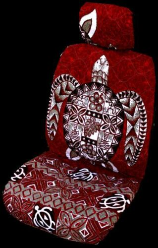 Mer Rouge turtlehawaiian Distinct Appuie-Tête Housse-Lot de 2