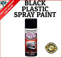 12oz Spray Paint For Automotive Car Plastic Renews & Restores Pvc Gloss Black