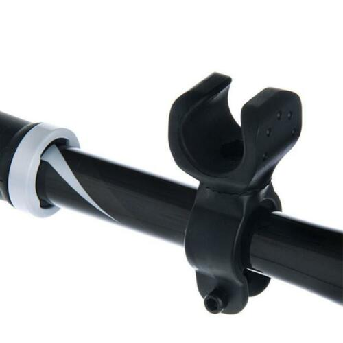 Bicycle Adjusted Torch Clip Mount Front Light Bracket Flashlight Light Holder